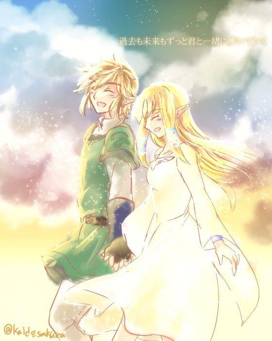 Link And Zelda Relationship 314 best LoZ: Skyward ...