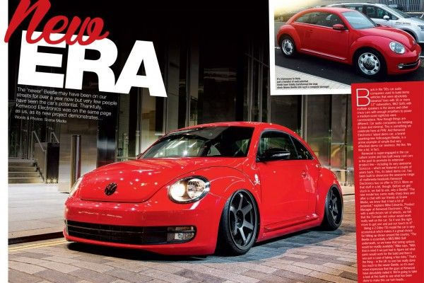 Kenwood Beetle in Performance VW Magazine! ‹ Kenwood Car Audio & Entertainment