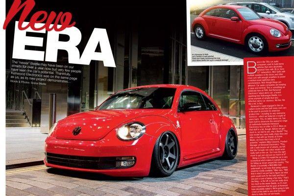 Kenwood Beetle in Performance VW Magazine! ‹ Kenwood Car Audio & Entertainment