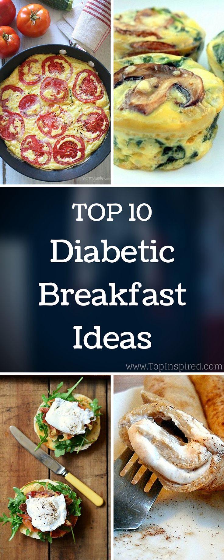 Best Diabetic Breakfast Ideas #Diabetic