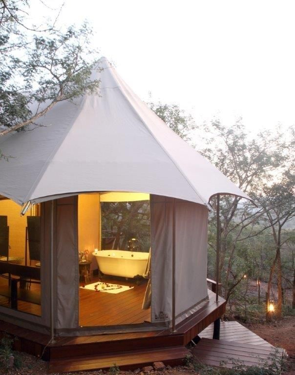 THANDA TENTED CAMP #canvasandtent