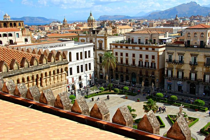 "Palermo is the capital of the Italian island of Sicily, which sits nestled in the glistening Mediterranean just off the ""toe"" of Italy's ""boot."" Palermo itself is home to Byzantine mosaics, frescoed cupolas, Arabesque domes,"