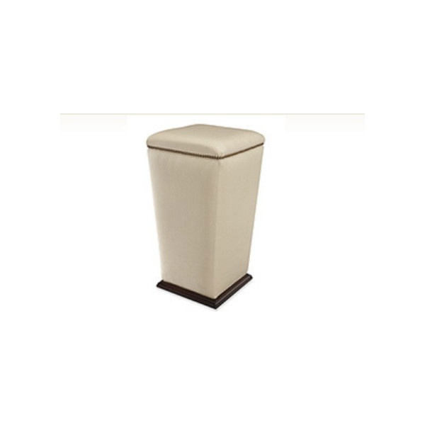 Lee Industries Bongo Bar Stool - contemporary - ottomans and cubes - - by Lee Industries found on Polyvore