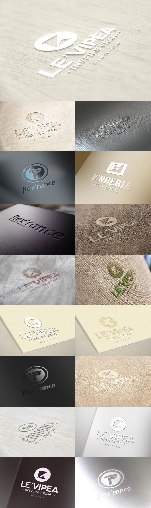 17 Logo Mockup Templates on Behance