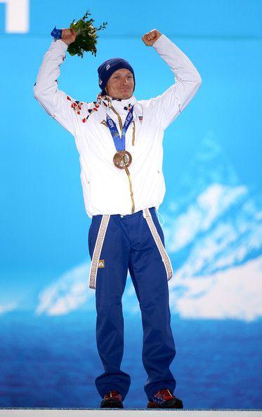 Ondřej Moravec (Czech Republic)   Winner of Bronze Medal for Biathlon (men's mass start 15km)