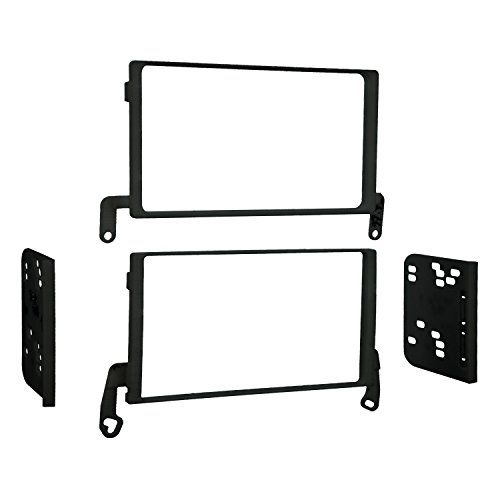Metra 95-5818 Double Din Dash Kit for Select 1997-2003 Ford, Lincoln, Mercury, Mazda Vehicles. For product info go to:  https://www.caraccessoriesonlinemarket.com/metra-95-5818-double-din-dash-kit-for-select-1997-2003-ford-lincoln-mercury-mazda-vehicles/