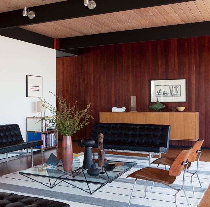 11 midcentury modern living rooms
