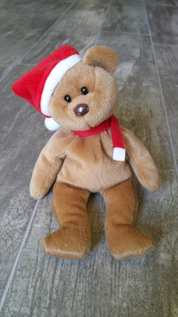 Teddy the Bear Vintage Original 1997 Ty Beanie Baby Guys Girls Boys  Birthday Fall Birthday Decor Chr 8c808bdc94ad