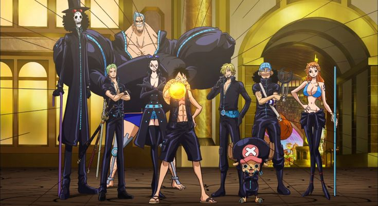 Film One Piece Gold 2016