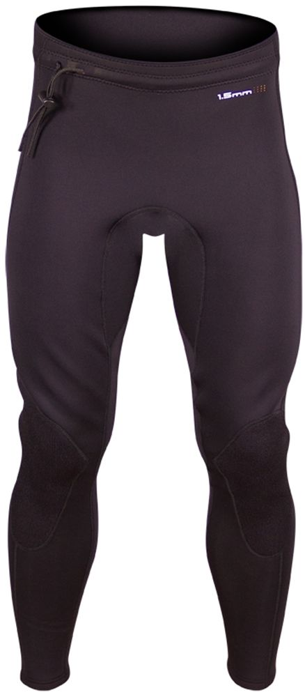 """SUPreme Unisex 1.5mm Contour Quantum Foam Neoprene PantsThe SUPreme contour pants are designed for moderate and cold water conditions. As the name implies these pants """"contour"""" your lower body with SUPreme's exclusive Quantum Foam 1.5mm neoprene...."""
