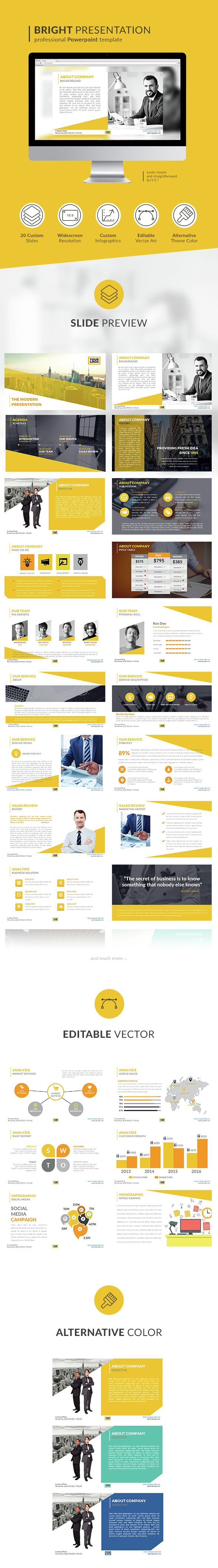 Modern Bright PowerPoint Presentation Template. Download here…