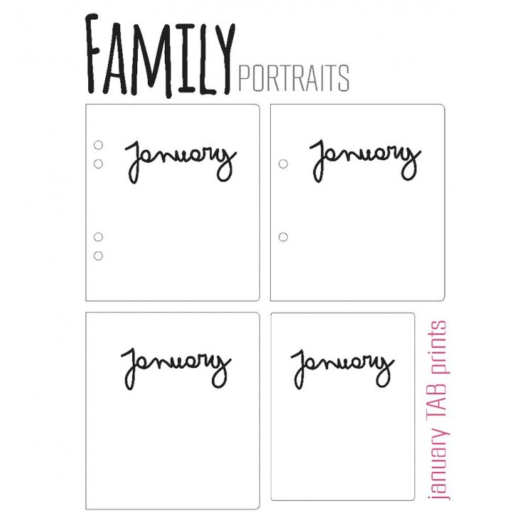 FAMILY PORTRAITS / BANNERS