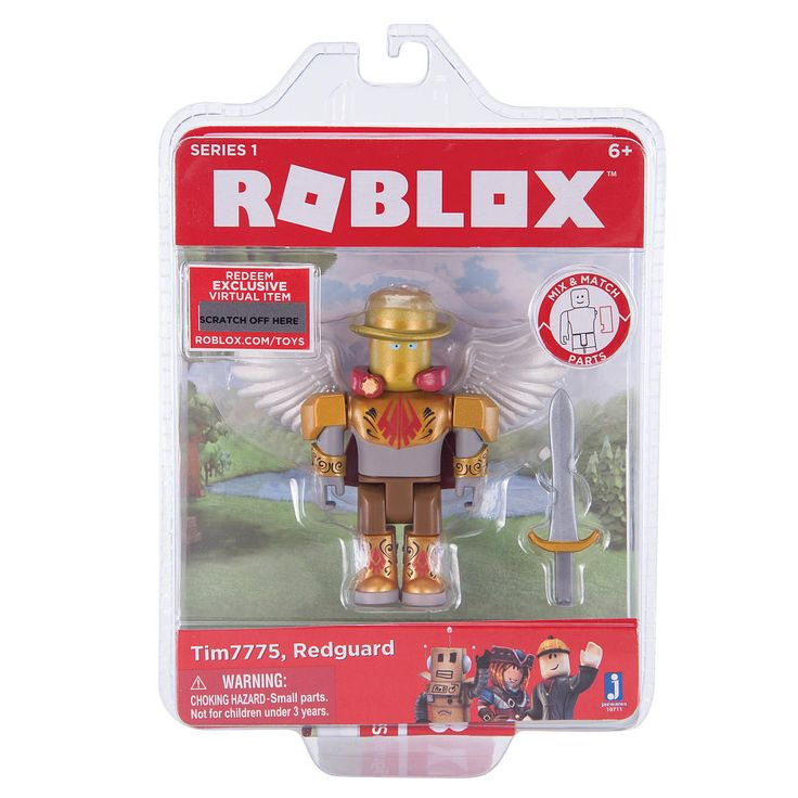 When Tim7775 isn't fighting the Korbloxians, he is working on Hide and Seek Extreme, a popular game on Roblox.<br><br>All hail the enchanted Knight of Redcliff, Tim7775! Bearing the wings of an angel, he descends upon Robloxia to do battle in the great Kobloxian war. When he's not taking up arms against the Korbloxians, he can usually be seen working on Hide and Seek Extreme, one of the most popular games on Roblox.<br><br>Each Core Figure Pack comes with a cod...