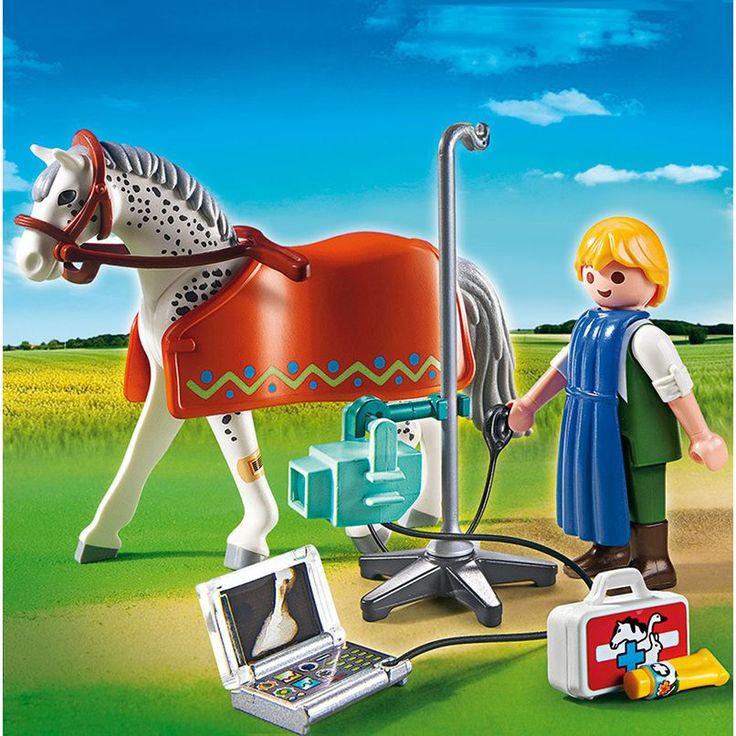 Playmobil Vet Clinic, Röntgenre váró lovacska 5533