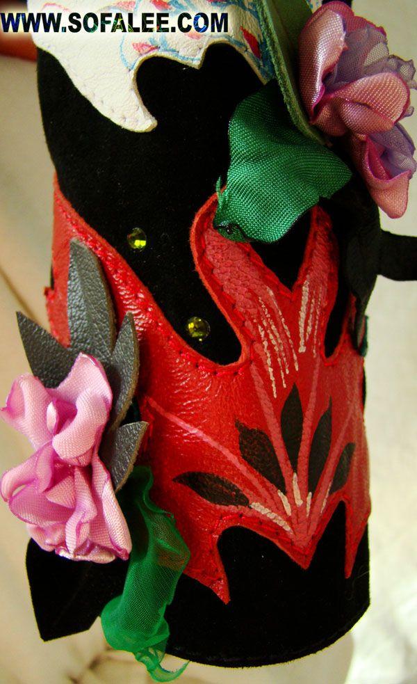 женская замшевая куртка и цветы рукав деталь.jpg (600×983)