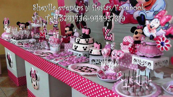17 best images about minnie coqueta bebe decoraci n - Decoracion fiestas bebes ...