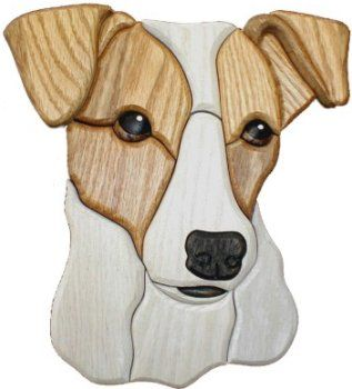Free Knitting Pattern Jack Russell Dog : 1870 best Stained Glass Pets images on Pinterest Stained ...