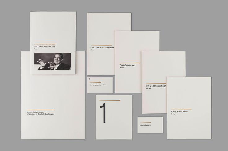 SWITZERLAND François Schoder • Crédit Suisse • Identity • Rives Design • Offset / Hot foil stamping / Embossing