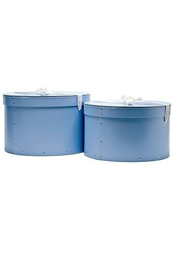 Our Beautiful Blue Hat Boxes Look Lovely And Are At A Great Price Too. In