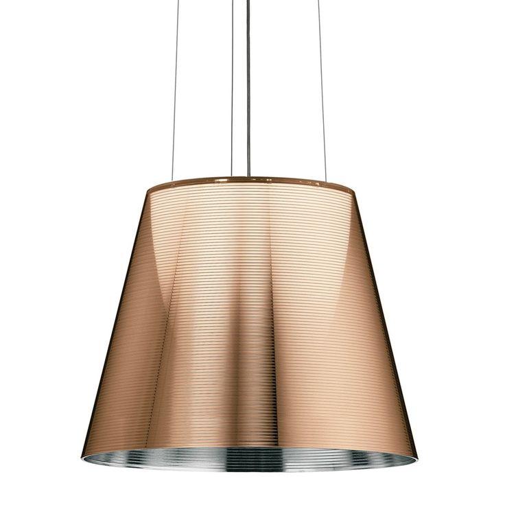 Buy Flos KTribe S3 Ceiling Light - Bronze | Amara