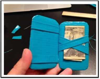 Duct Tape Magic Wallet: Teen Tech Week Program