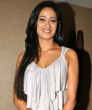 Shweta Tiwari is happy being on the small screen!