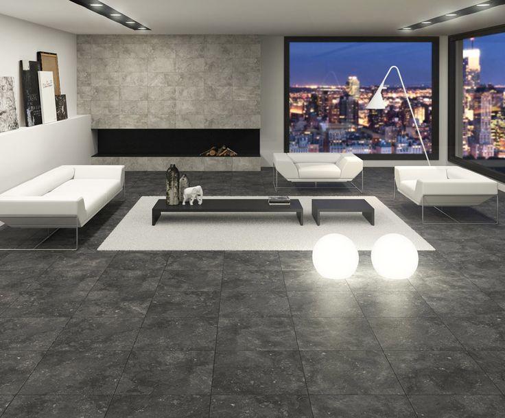 ARCANA Tiles Buxi 60x60 cm. | arcana ceramica #salon #livingroom # city #urban #style #decor #elegant #architecture #interiordesign #design #indoor
