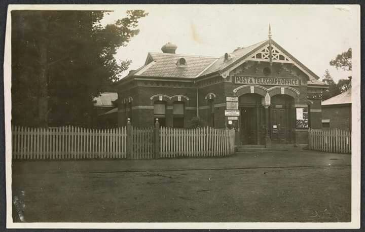 Post and Telegraph Office at Yea,Victoria.