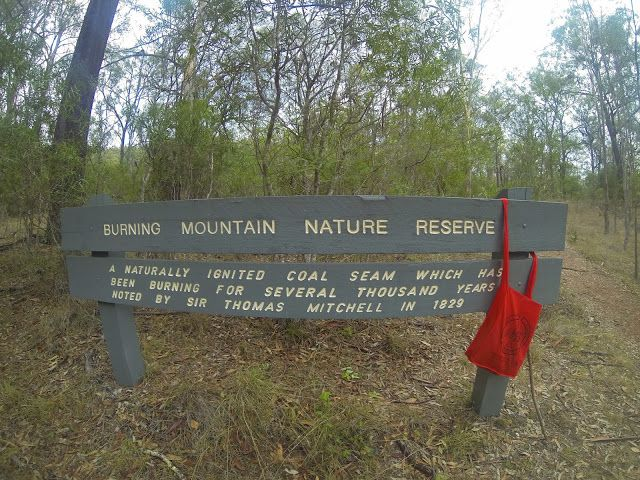Travel Trip Journey: The Burning Mountain of New South Wales, Australia...