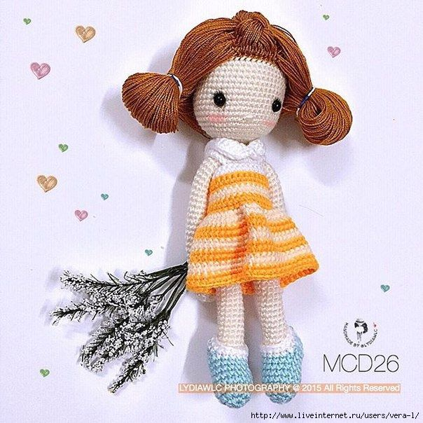285 Best images about Crochet/Knit ::: Dolls on Pinterest ...