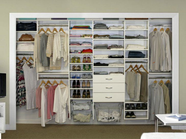 Doorless closet idea closet remodel ideas pinterest - Walk in closet designs for a master bedroom ...