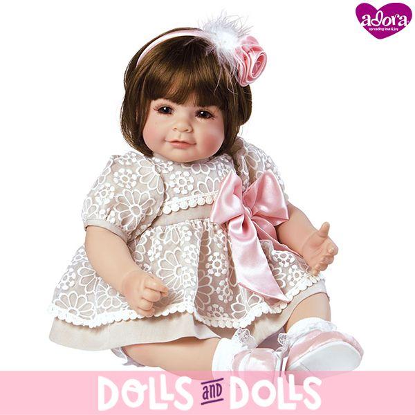 ⏳ ¡NO TE QUEDES SIN ELLA! ⏳  Enchanted de la marca #Adora ha sido descatalogada y ya no se fabrica. Si te gustaría comprarla, en nuestra web la encontrarás con otras #muñecas de la marca.  ¡Date prisa porque nos quedan muy pocas unidades!  #Dolls #AdoraDolls #Muñeca #Bonecas #Poupées #Bambole #MuñecasAdora