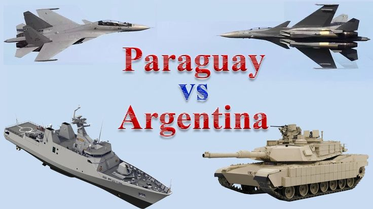 Paraguay vs Argentina Military Power 2017
