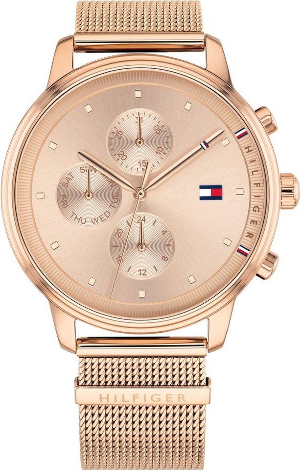 60a63b1bd0e5 TOMMY HILFIGER Multifunktionsuhr »CASUAL, 1781907«   Jewelry Tattoos ...