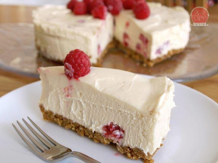 Легкий творожный тортик: сладкая радость! на 100грамм - 65.73 ккалБ/Ж/У - 9.82/0.32/5.85  Ингредиенты: Овсяные хлопья - 80 г (молотых) Белки - 1 шт  Вода - 3 ст. л  Корица - по вкусу Подсластитель - по вкусу  Начинка:  Творог обезжиренный - 250 г Ягоды, фрукты - 50 г (у нас малина) Белки - 1 шт  Подсластитель - по вкусу  Приготовление: Молотые хлопья смешать с белком и водой, добавить подсластитель и корицу по вкусу. Замесить тесто. Выкладываем его в форму для выпекания, формируя бортики…