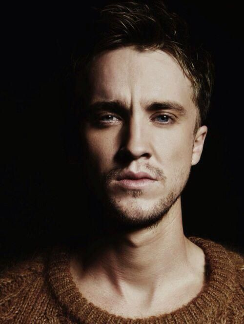 Yeah I like Harry Potter but damn I think I have a crush on Tom Felton... Take me to the dark side.