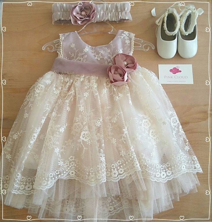 #pink_cloud#Baptism#Girl#vintage