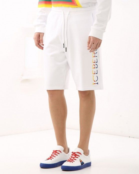 Casual shorts with logo Iceberg