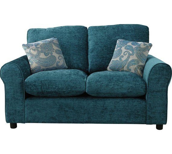 Buy HOME Tabitha Compact 2 Seater Fabric Sofa - Teal at Argos.co.uk, visit Argos.co.uk to shop online for Sofas, Living room furniture, Home and garden