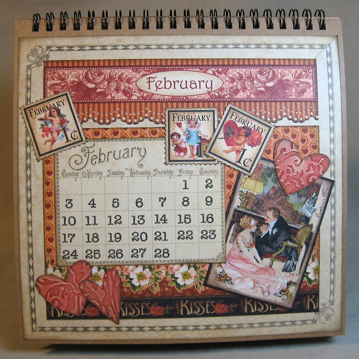 Eclectic paperie graphic 45 place in time calendar