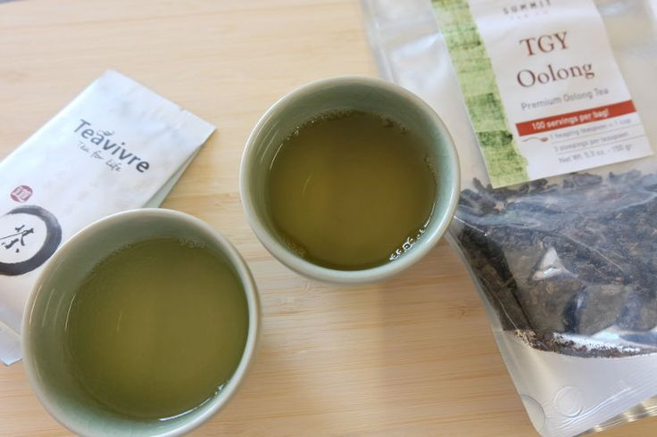 As a #tieguanyin #tea lies between #blacktea and #greentea, it's quite interesting to note that these two varieties are very different from each other.