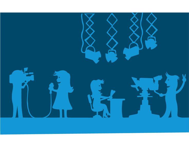 TV set. Science centre project for children in Quito, Ecuador.   Contractor: Vpormil.  Illustration. 2012