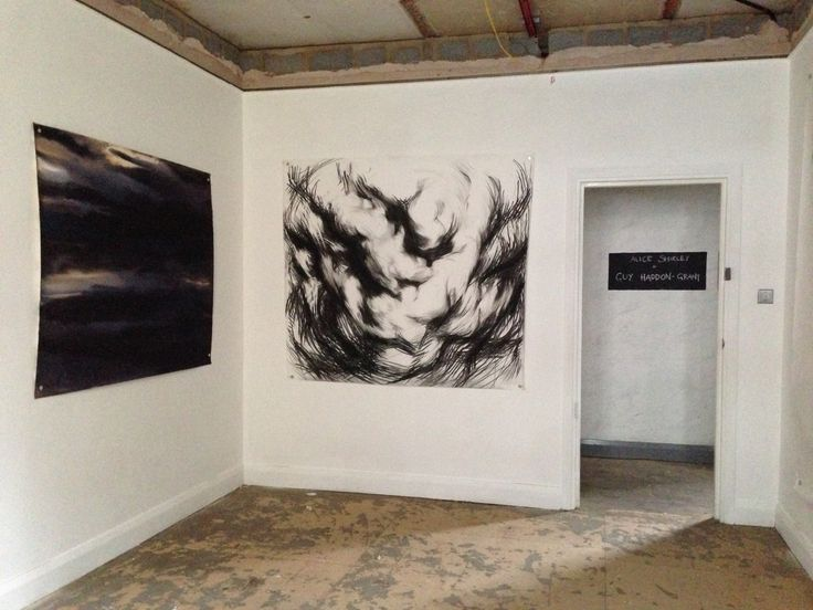 Office Session IV - Soho (July/August 2015) Site specific collaboration Alice Shirley and Guy Haddon-Grant