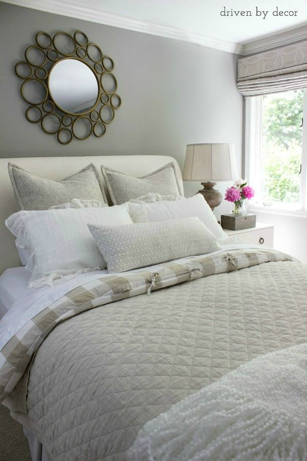 Simple tips on how to make a beautiful, restful bed