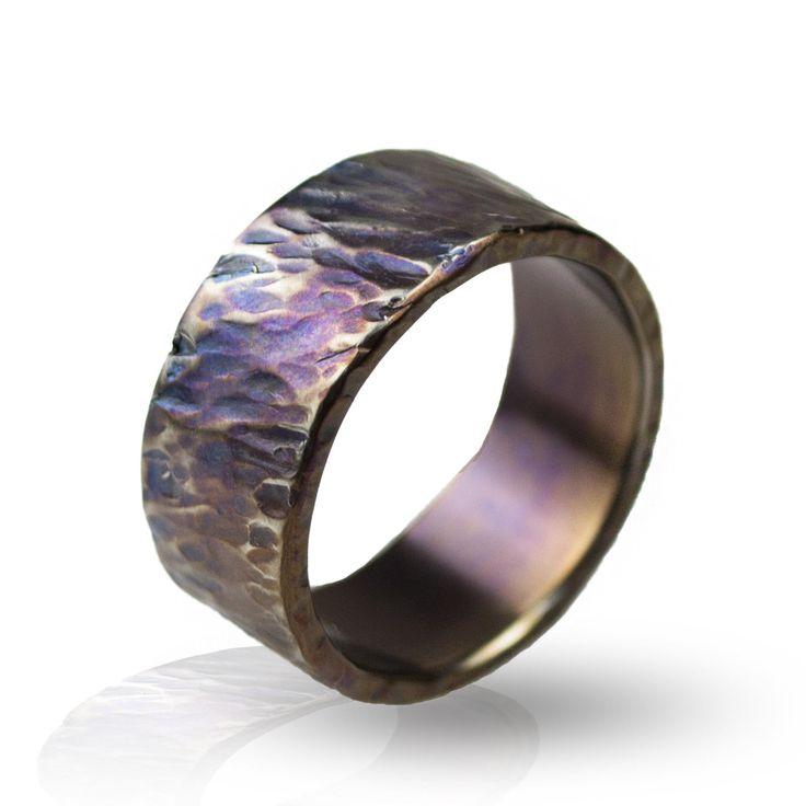 Cool Titanium Ring For Men & Women 8-13 Sizes - Fashionable Edc Titanium Jewelry