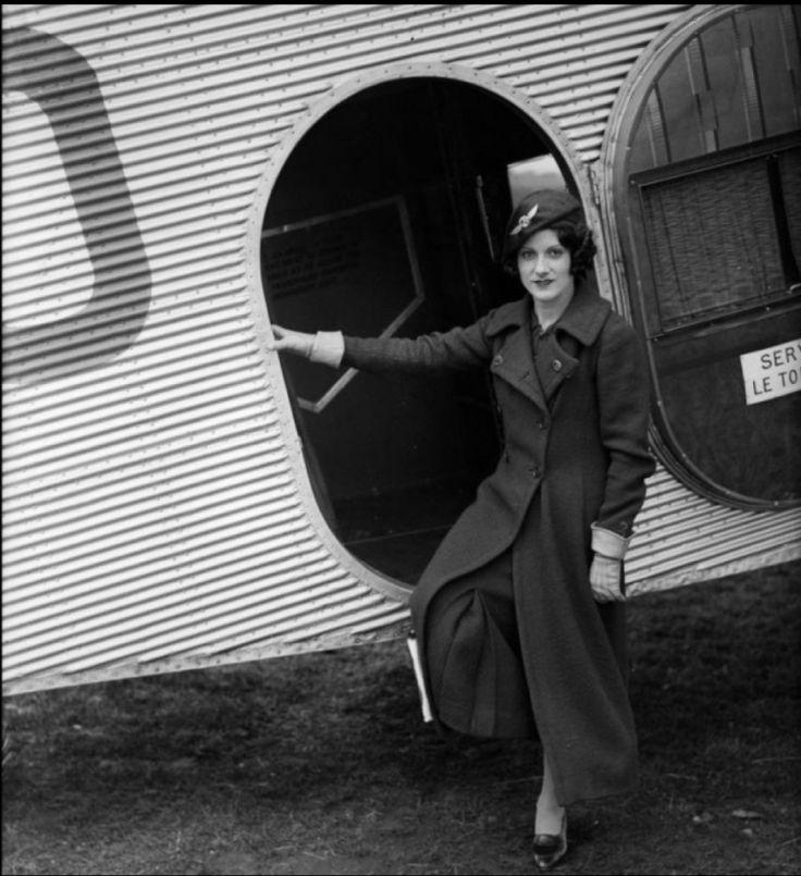 First female flight attendant: Ellen Church, May 15, 1930