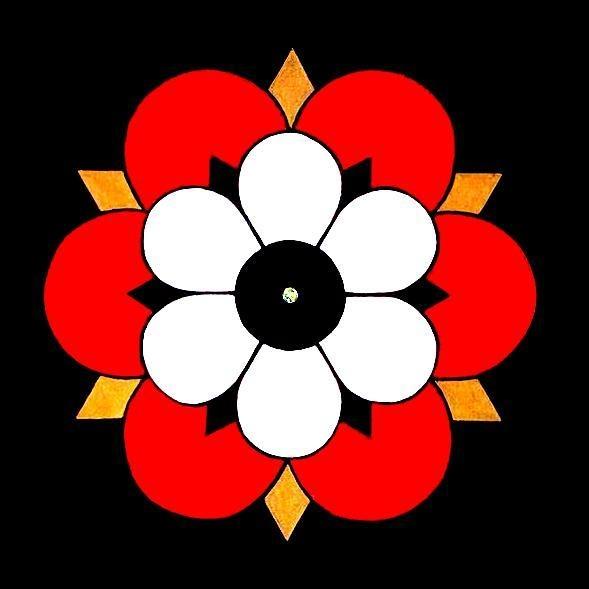 Romanesque Rose.