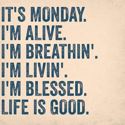 Monday Quotes Happy Monday Quote  Positive Vibes  Pinterest  Mondays Happy