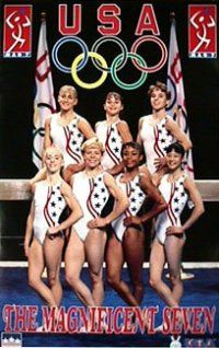 The Magnificent Seven! these girls were my idols when I was like 7 or 8, I wanted to be an Olympic gymnast just like them! :) I always look forward to the gymnastics portion of the summer Olympics!