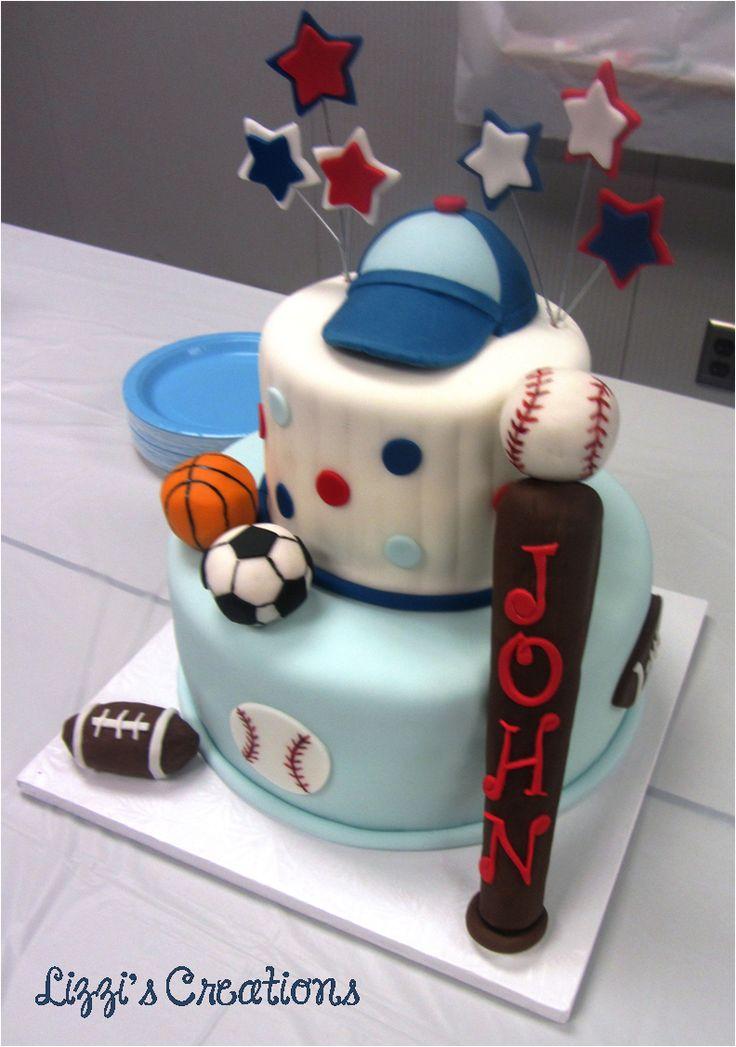 sports themed cakes on pinterest sport cakes baseball theme cakes